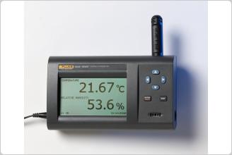 Fluke 1620A Digital Thermometer-Hygrometer