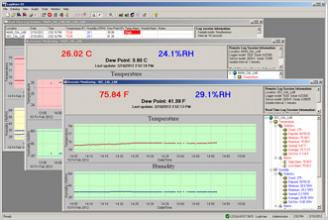 9936A LogWare III - temperature data logging