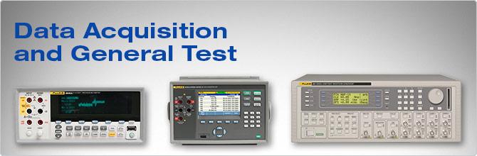 Instruments Data Acquisition : Data acquisition general purpose test equipment fluke