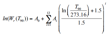 Equation 3. Reference function