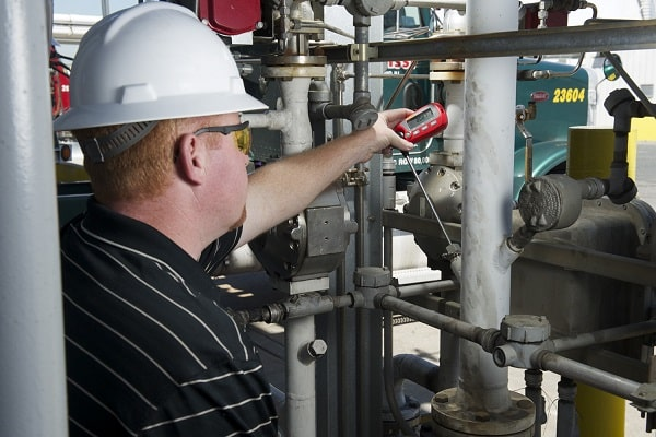 Technician Performing Intermediate Checks or Equipment Verification Between Calibrations