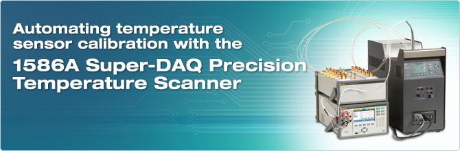 1586A Super-DAQ Precision Temperature Scanner