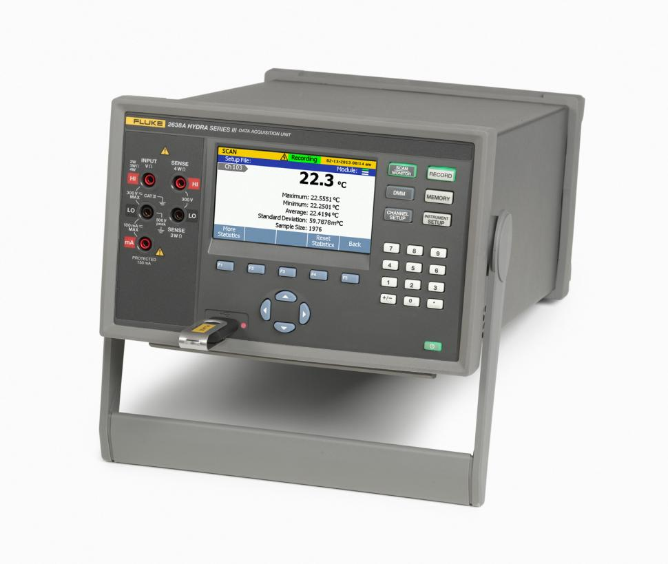 Data Acquisition Equipment : A hydra series iii data acquisition system digital