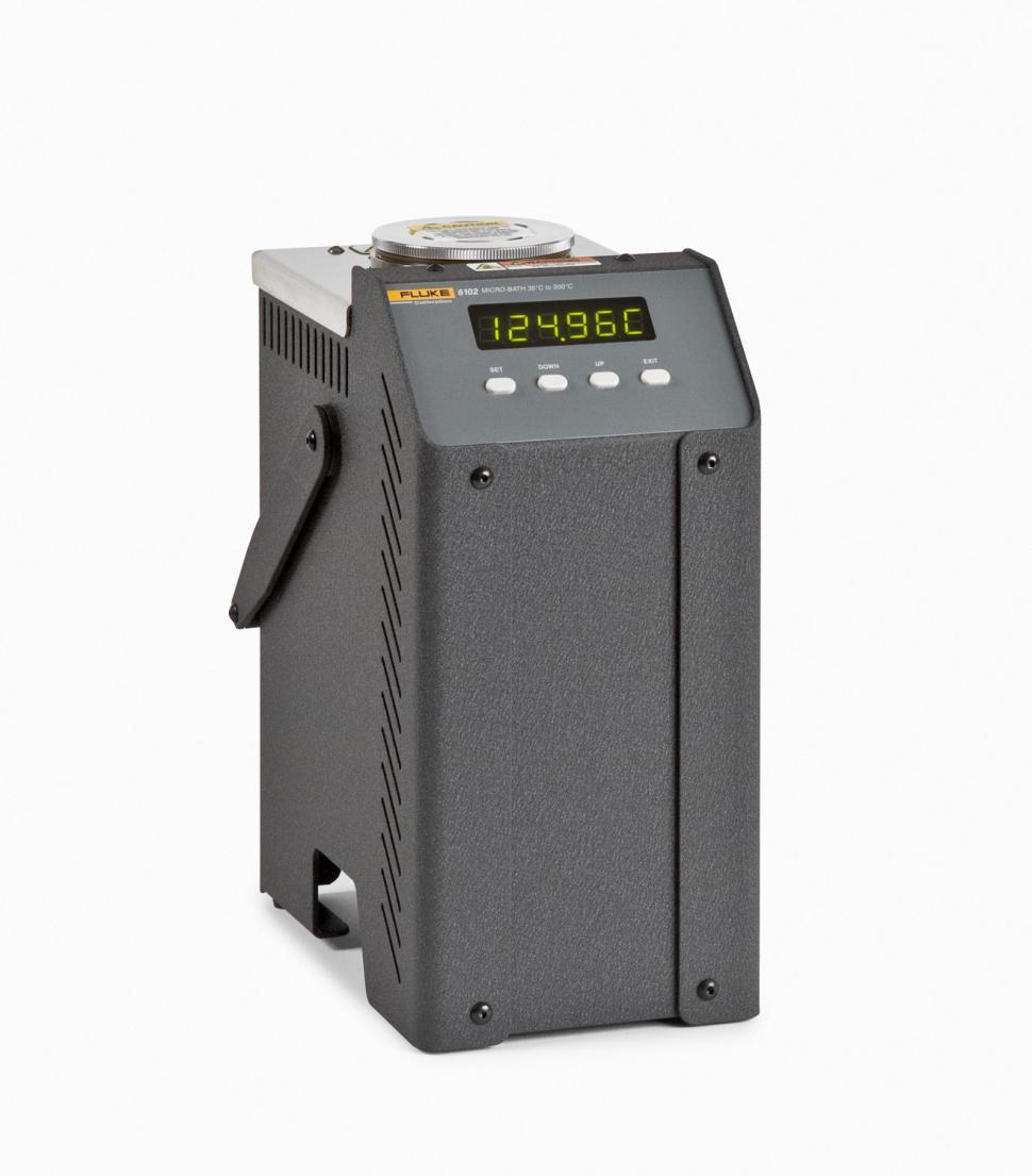 Fluke 6102 7102 7103 Micro Bath Thermometer Calibrators Electronic Circuit Diagram Liquid Water Temperature Calibrator