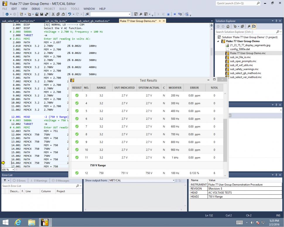 calibration management software met cal fluke rh eu flukecal com Instruction Manual User Guides Samples