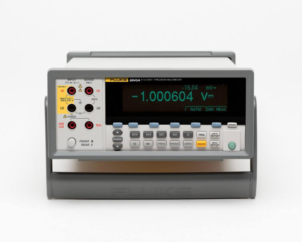 6 5 Digit Multimeter | Desktop DMM | Fluke 8845A & 8846A