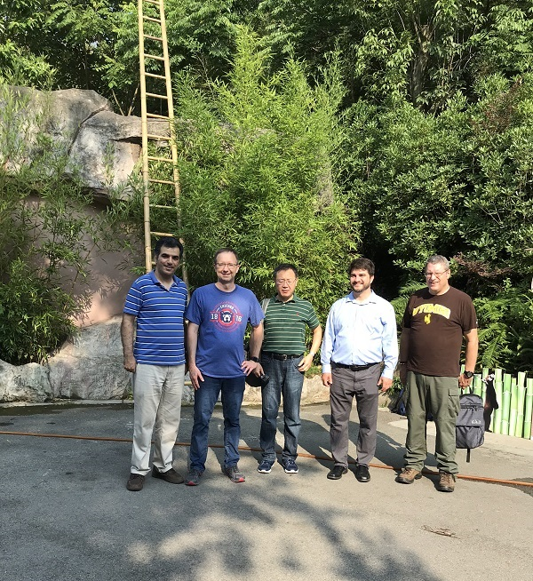 Tempmeko 2019 Fluke Calibration Team at the Panda Research Base in Chengdu, China